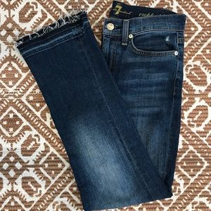 7 for all mankind - Kick flare mid rise jeans